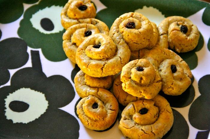 Рождественский рецепт - печенье Шафран Бун