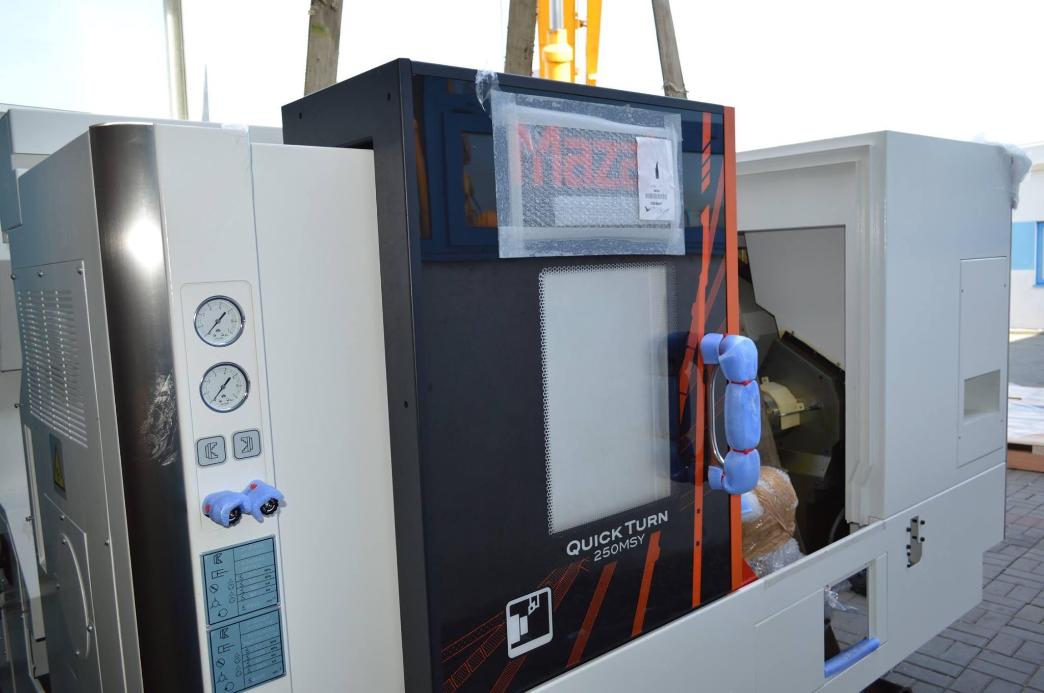 Новый токарный центр QUICK TURN SMART 250 CNC