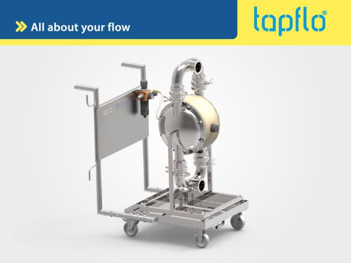 Мобильные решения для насосных агрегатов от Tapflo