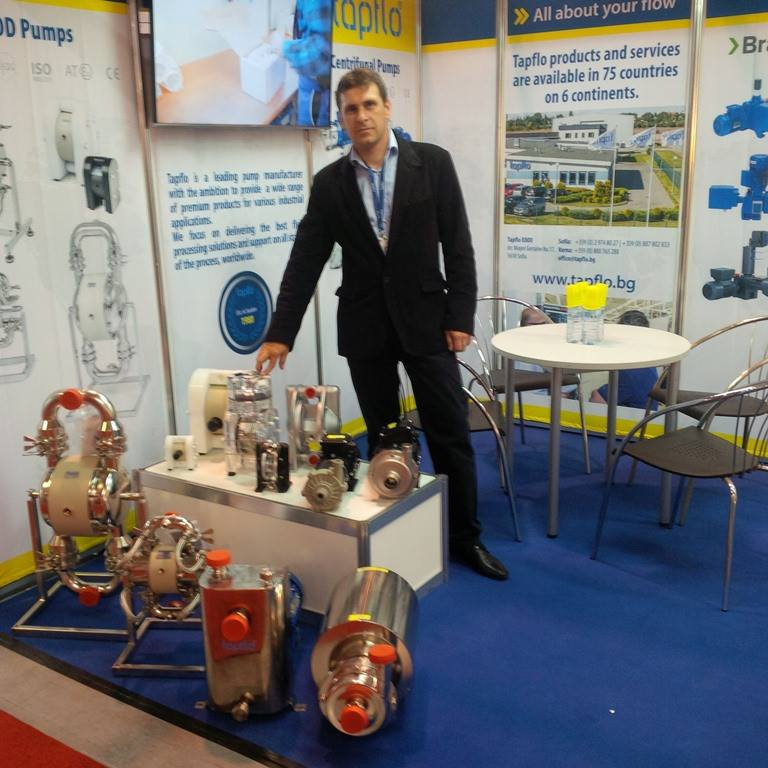 Тапфло Болгария приняла участие в выставке для молочной продукции