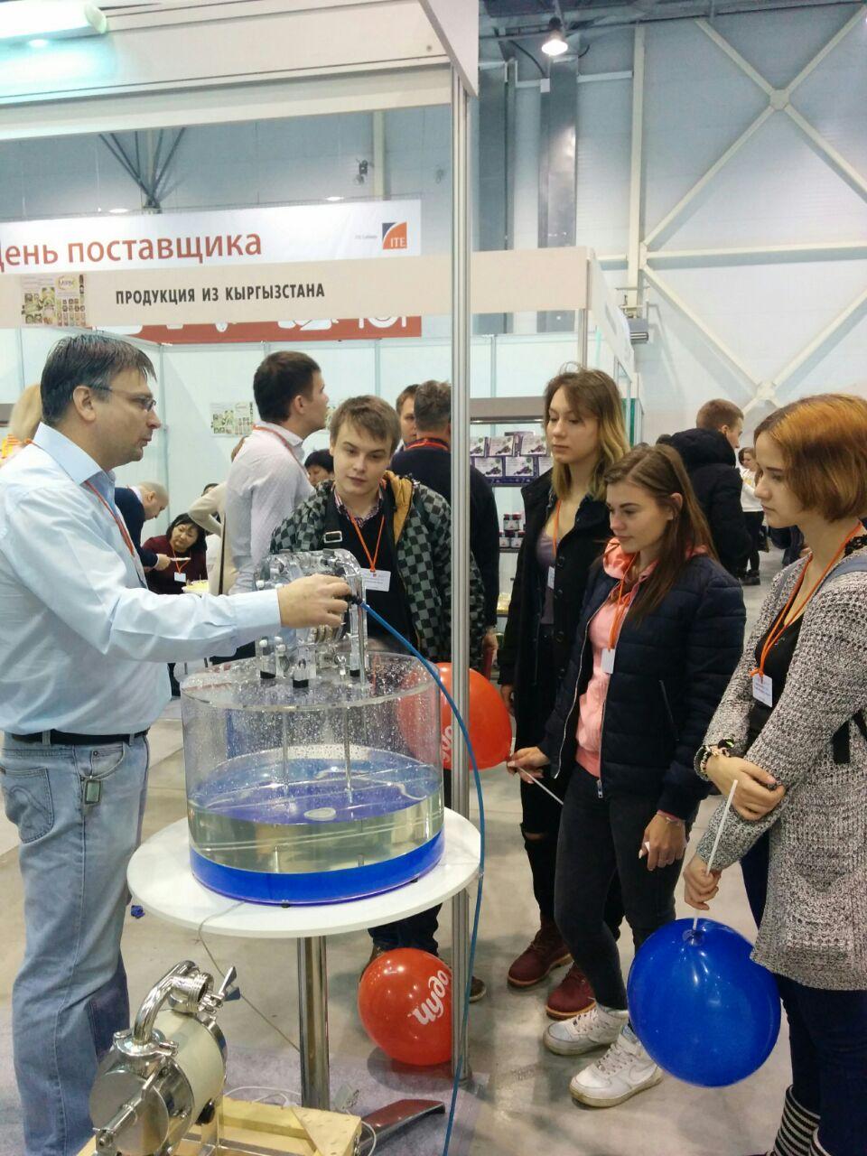 Тапфло Россия на выставке InterFood Siberia 2017 в Сибири
