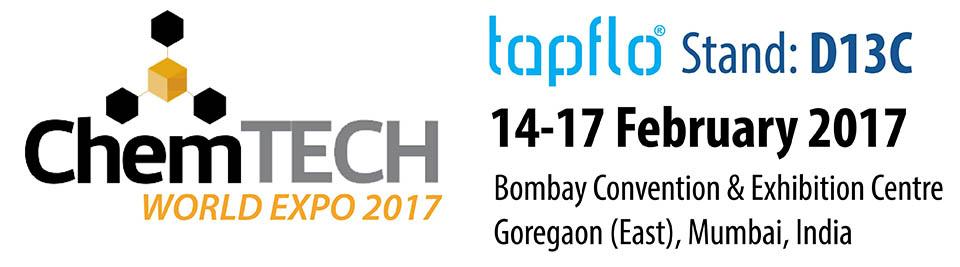Тапфло Индия на выставке ChemTECH