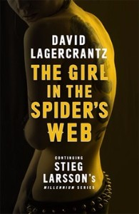 Girl in the spider's web book image