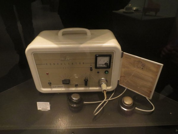 Electroconvulsive Therapy Machine Circa 1970