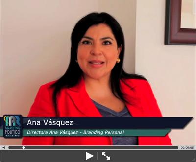 Video invitación de Ana Vasquez - Directoral de BRANDING PERSONAL