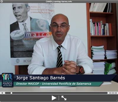 VIDEO invitación de Jorge Santiago Barnés - Director del MAICOP Universidad Pontificia de Salamanca