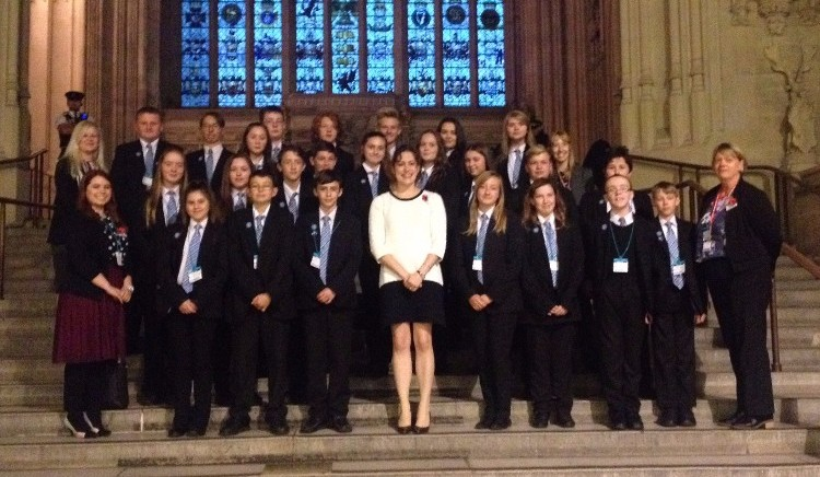 Somercotes Academy Visit Houses of Parliament