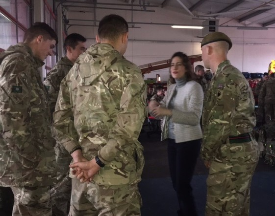Victoria Atkins MP & Yorkshire Regiment