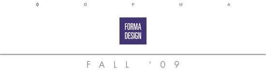 FORMA Design  - Fall 2009