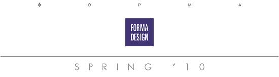 FORMA Design  - Spring 2010