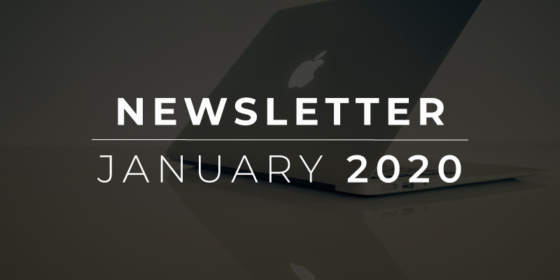 Newsletter, January 2020