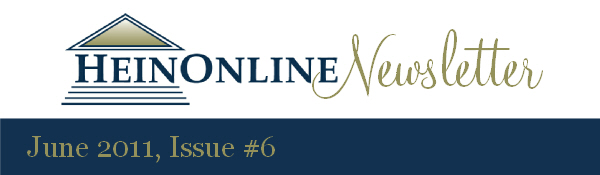 HeinOnline Newsletter