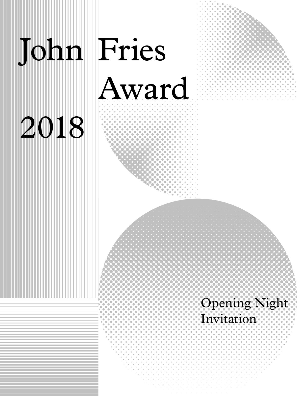 JFA 2018 Invitation