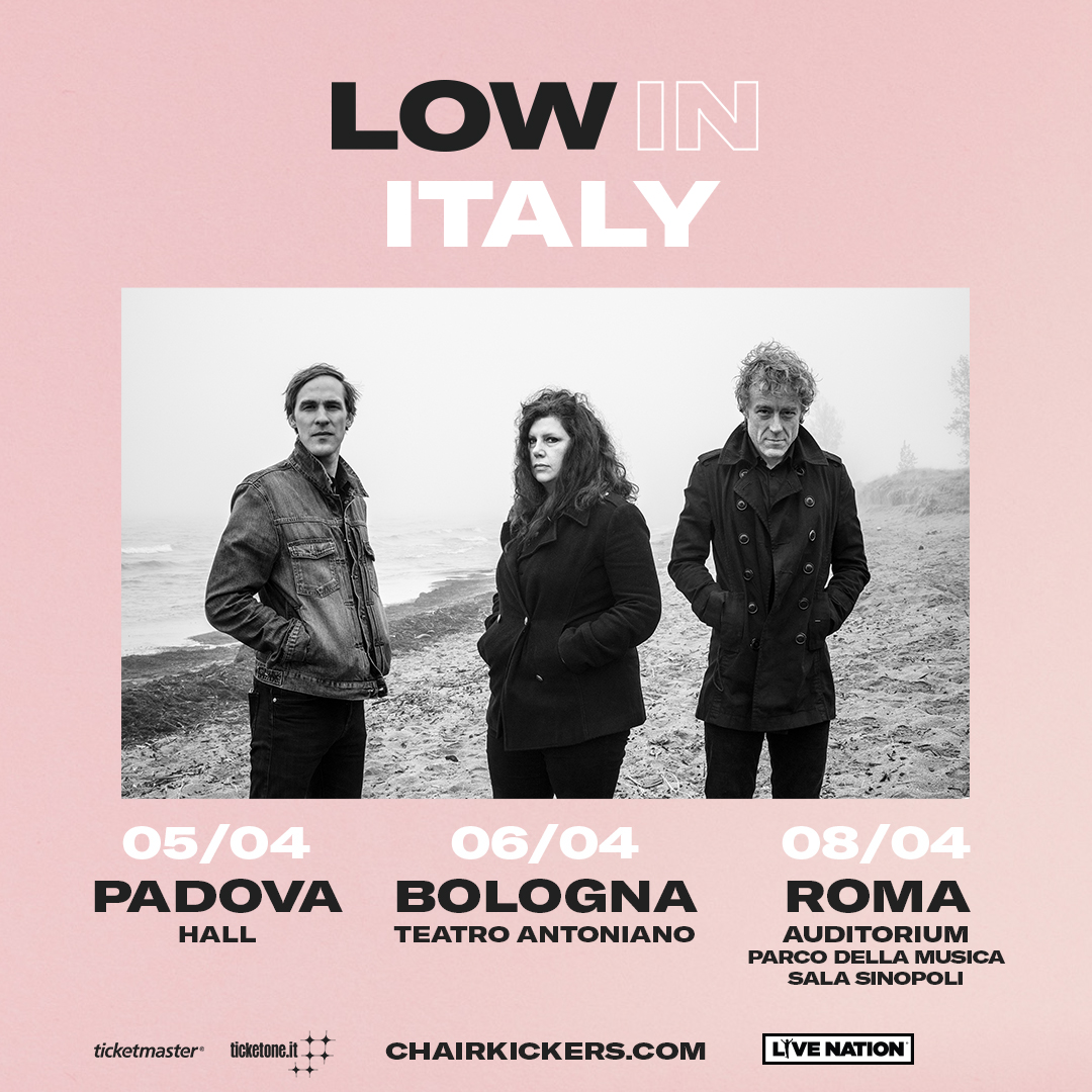 Low 3 date italiane ad aprile 2019