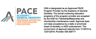 Academy of General Dentistry (AGD) PACE program