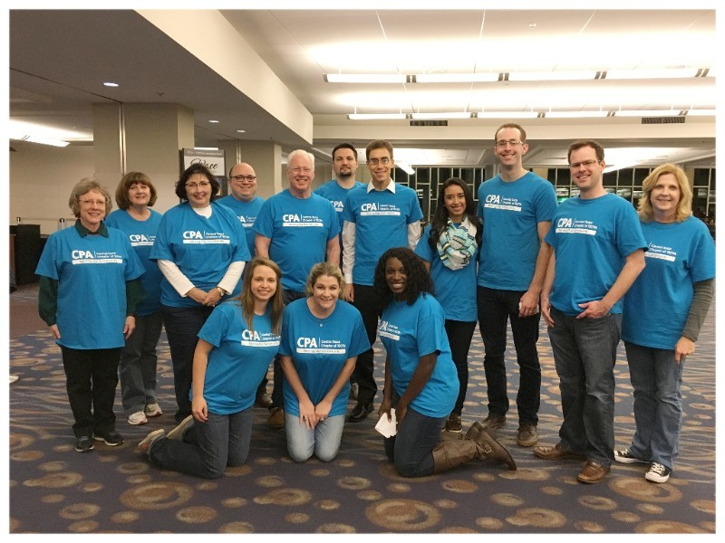 Chapter Volunteers at the HEB Feast of Sharing   at the Waco Convention Center