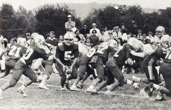 Pictured:North Cross vs. Roanoke Catholic c. 1982