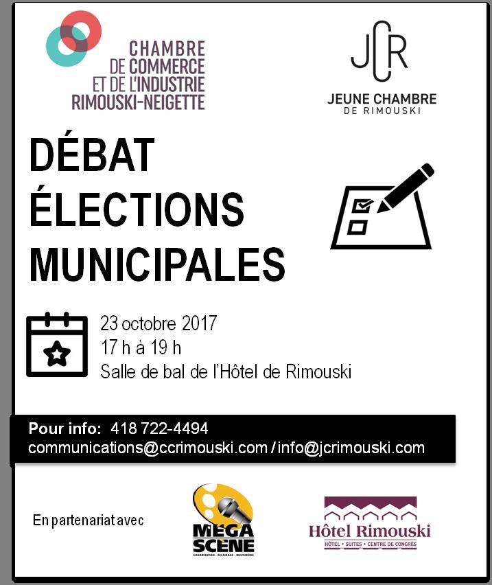 Débat élections municipales