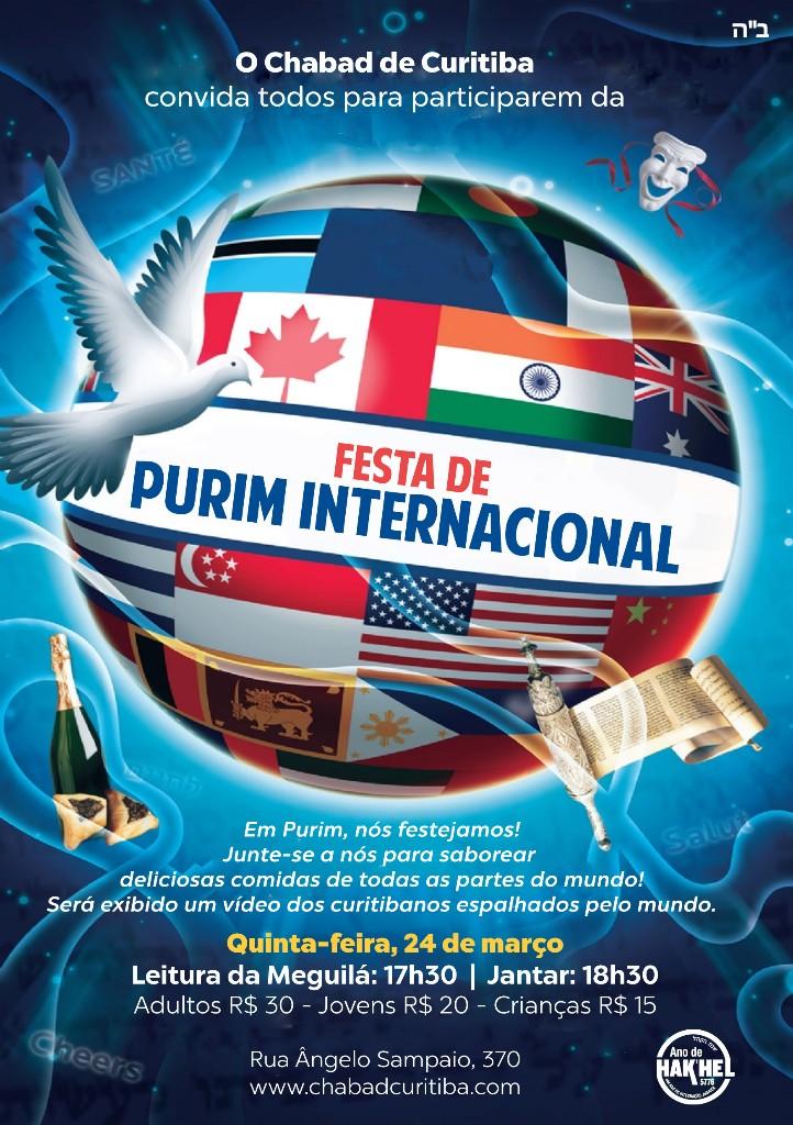 Purim internacional 5776