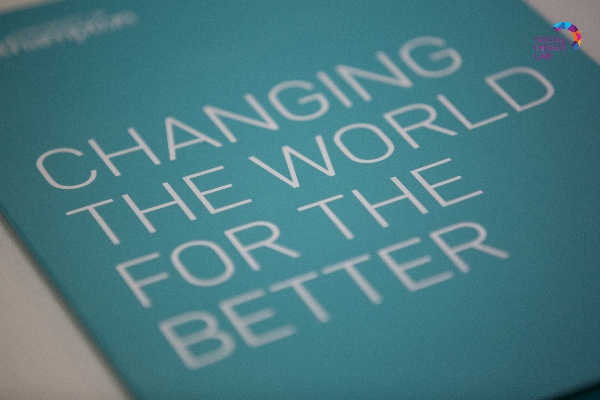 Our ultimate goal: changing the world for the better.