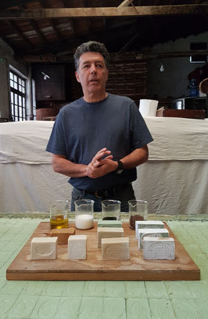 Soap factory demonstration