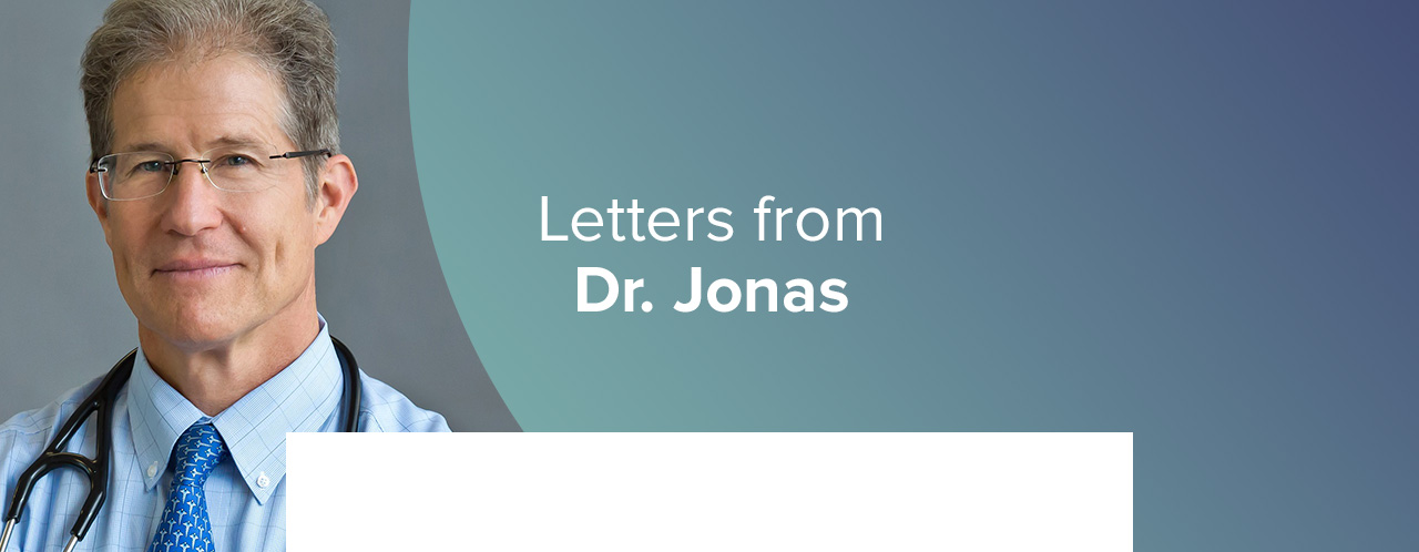 Letters from Dr. Jonas