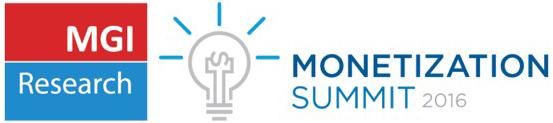 MGI Research Monetization Summit 2016 – April 20 in San Francisco