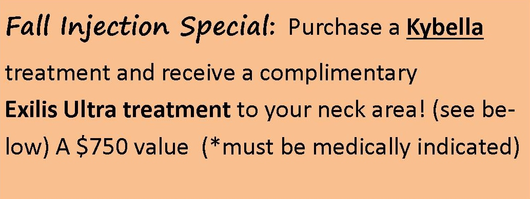 Fall Injection Special for Client