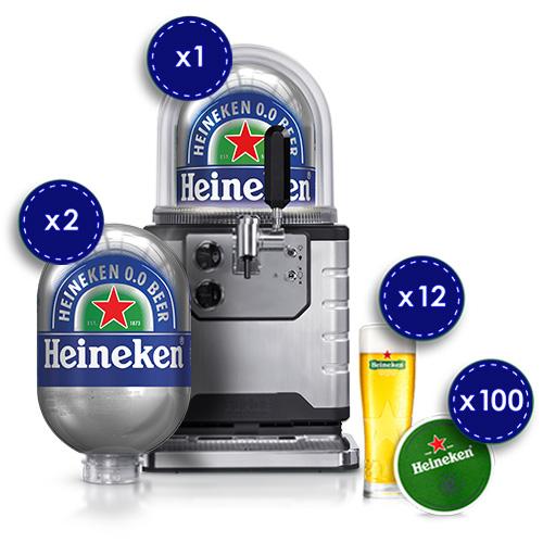BLADE – Heineken 0.0 Starter Kit