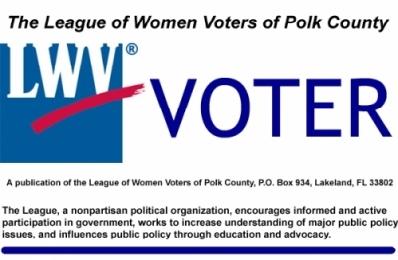 LWV Polk VOTER newsletter