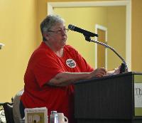 Ann speaking