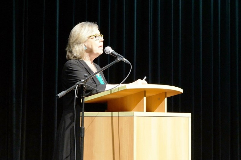 Elizabeth May talks about how to tackle climate change