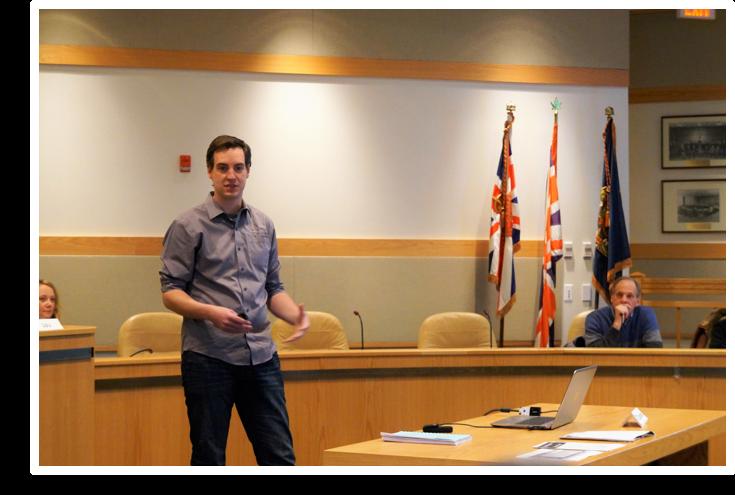 James Blackman discusses net zero building in Muskoka