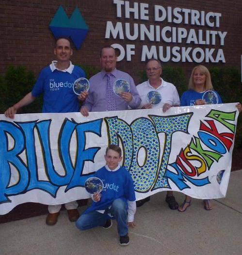 Muskoka Becomes a Blue Dot Community