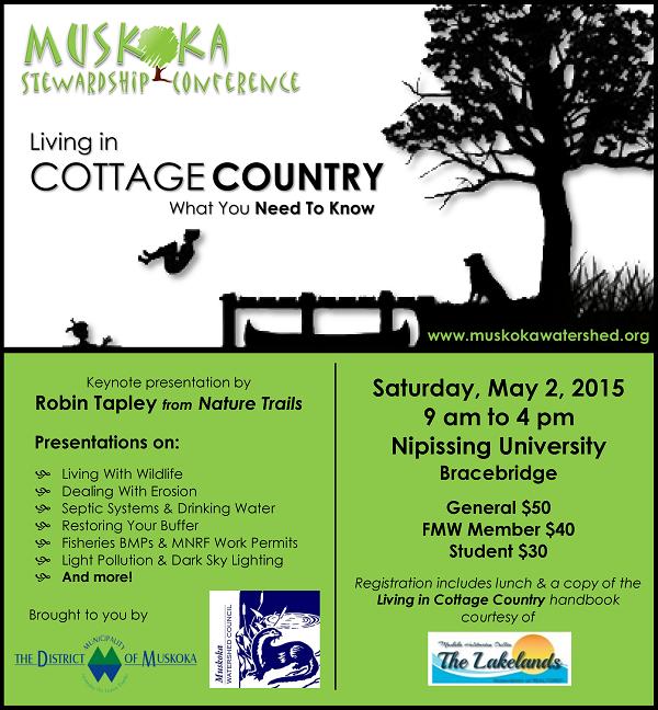 2015 Muskoka Stewardship Conference