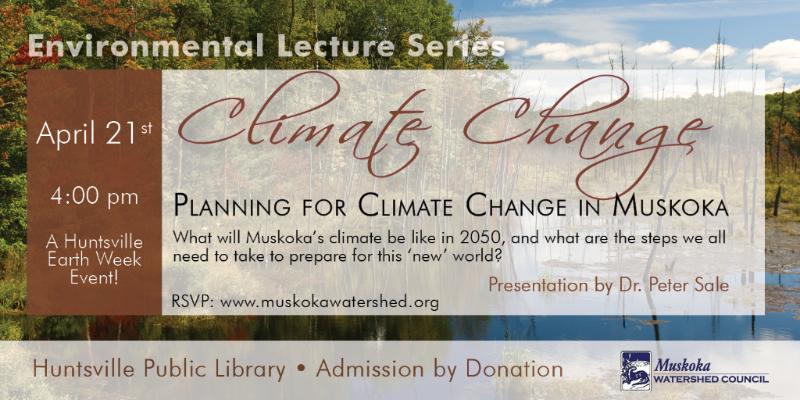 Climate Change Lecture - April 21st