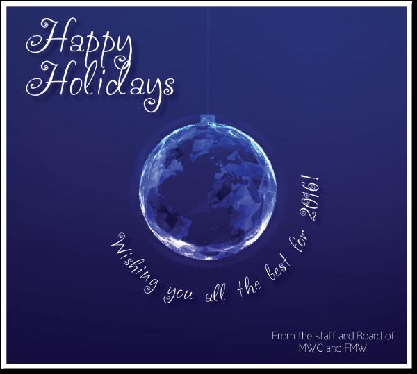 2015 Happy Holidays!