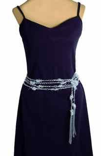 Barbed Wire Belt in Jelly Yarn