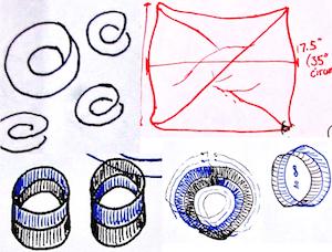Vashti Moebius pattern doodles!