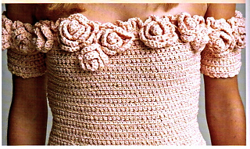 Ring Around the Roses--2006 pattern in a book