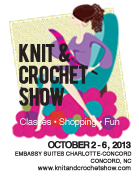 Knit and Crochet Show Registration Poster