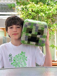 Minecraft Creeper Birthday Gift
