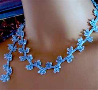 Beaded Jasmine Necklace Cord
