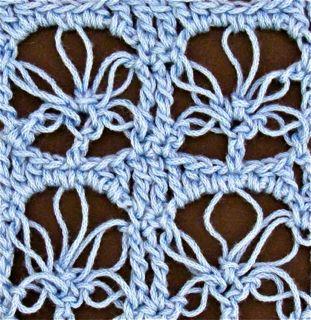 Vignettes Lace Loop pattern swatch