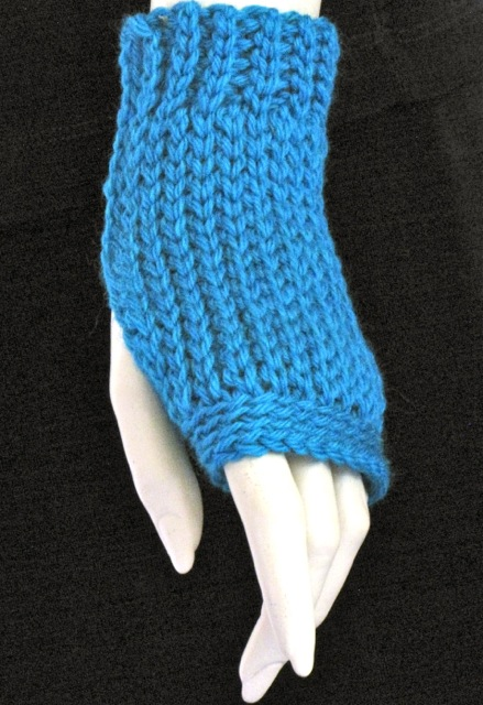 Basic Luckyslip Mitt: Slip Stitch Crochet Class Project