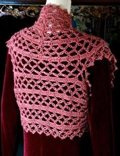 Sister Act Scarf and Shrug in Interweave Crochet Magazine