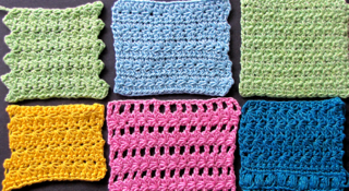 Six Star Stitch Patterns