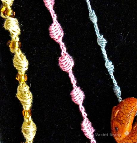 Open Clones Knots: Pendant Cords