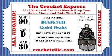 National Crochet Month Blog Tour Schedule
