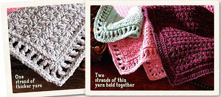 New star stitch blanket pattern! Q-Star Coverlet